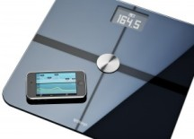 "Withings ""smart"" scale sends data to your smartphone"