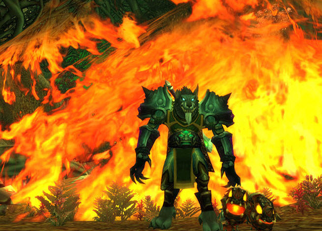 Art from Blizzard's World of Warcraft.