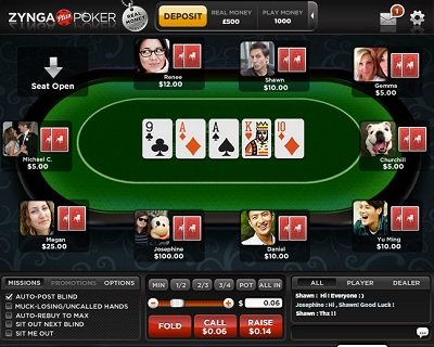 zynga real money gambling