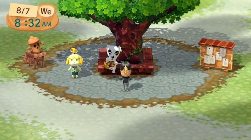 Animal Crossing Plaza for Wii U.