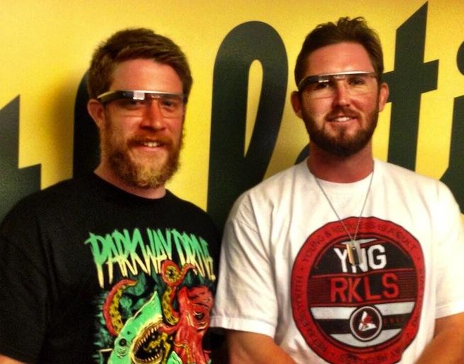 A's Google Glass