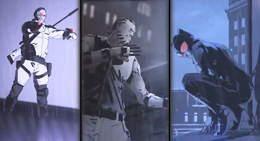 Some of the villains from Batman: Arkham Origins Blackgate