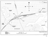 Should the new span go to the north or the south of the old eastern span?