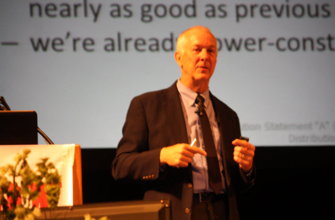Bob Colwell of DARPA