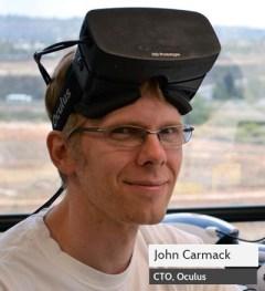 Oculus CTO John Carmack.