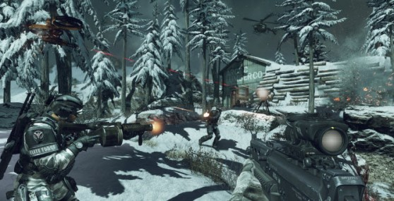Call of Duty: Ghosts' Drone in the arctic.