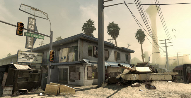 Call of Duty: Ghosts. Octane map.