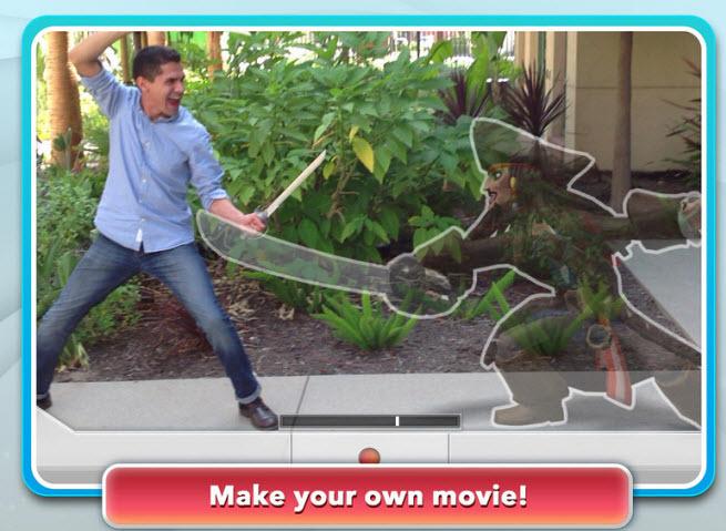 Disney Infinity: Action! mobile app