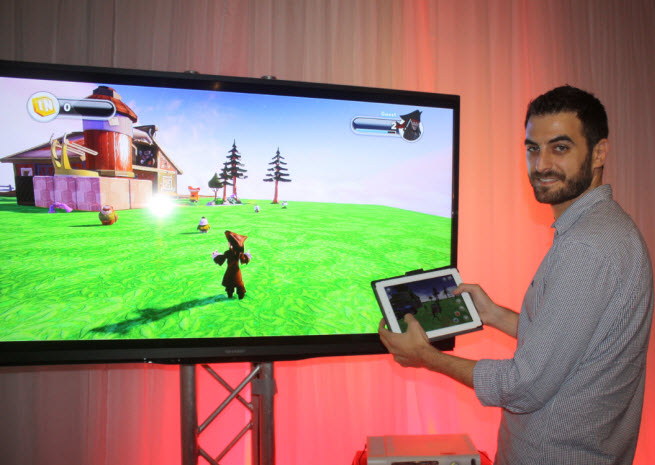 Dan Lehrich, producer of Disney Infinity: Toy Box mobile app.