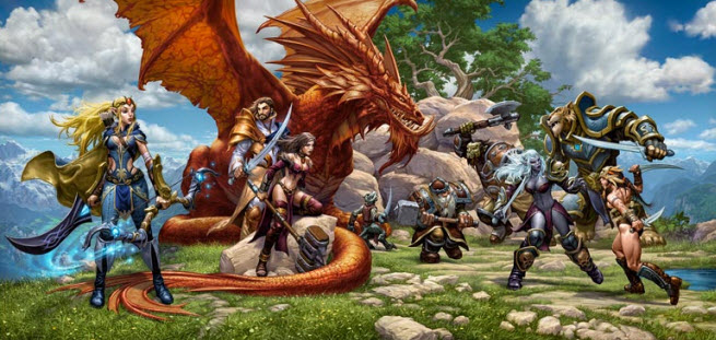 Everquest Next artwork from Sony Online Entertainment.