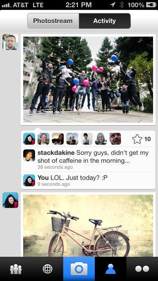 Flickr Activity