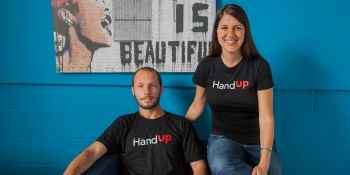 Hacking homelessness: HandUp lets you help out via mobile phone donations