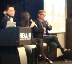 Sonny Vu and Tan Le at Rock Health's Innovation Summit