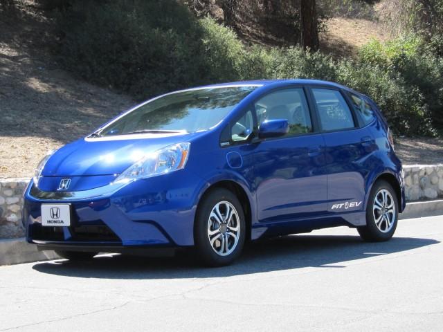 Above: The Honda Fit EV Gets 188 MPG (equivalent).