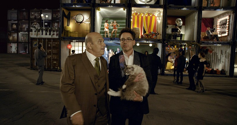 Robert Downey Jr. in an HTC ad