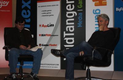 Jon Gaudiosi and John Riccitiello