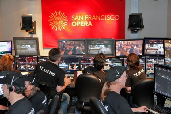 "Inside the Opera's multimedia production suite, ""Koret"""