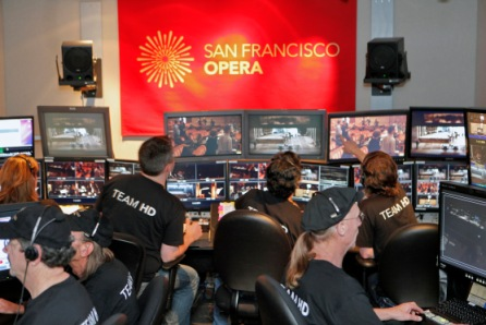 "Inside the Opera's multimedia production suite, ""Koret"""