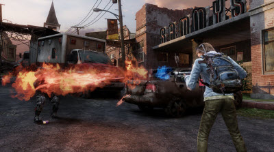 The Last of Us flamethrower