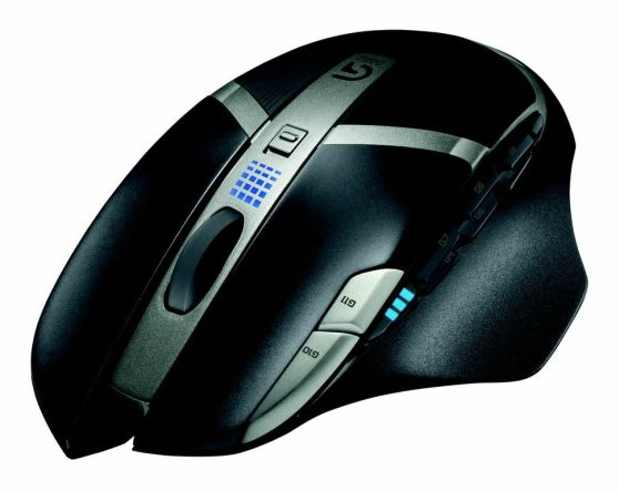 The Logitech G602 Wireless Gaming Mouse with 250 hours of battery life.