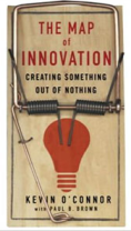 Cover of Kevin O'Connor's book, Map of Innovation