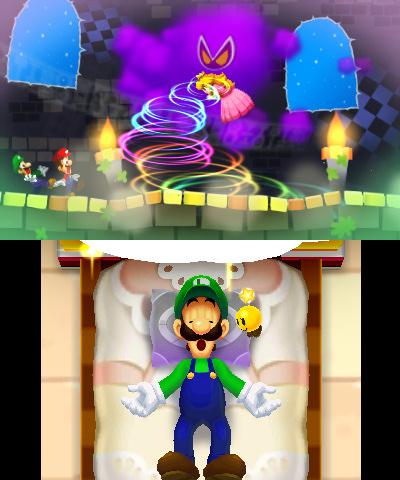 Mario & Luigi: Dream Team 1