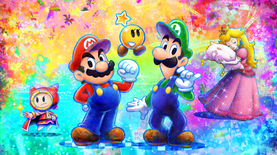 Mario Luigi Dream Team Is A Wonderful Celebration Of Year Of
