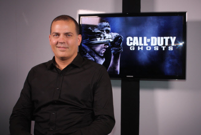 Mark Rubin, the executive producer on Call of Duty: Ghosts, in 2013.