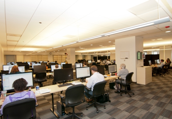 Lawyers and developers working side-by-side at McDermott's Discovery Center