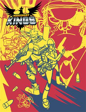 Mercenary Kings Codex Variant Cover