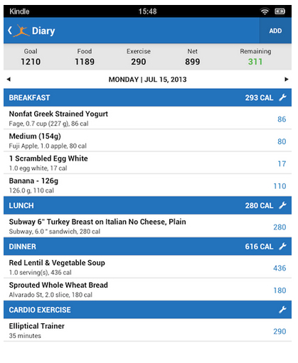 myfitnesspal weight-loss