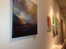 An art exhibit at UGallery's San Francisco office