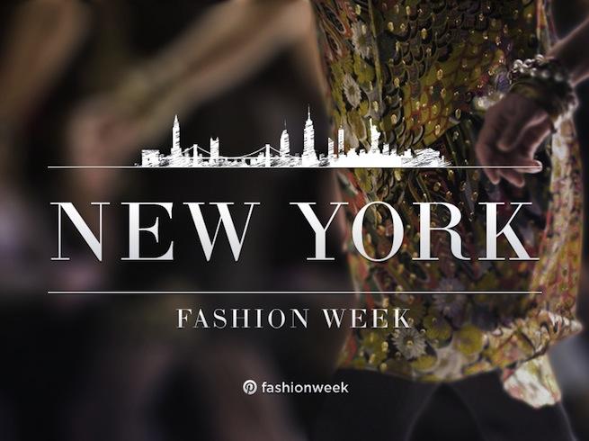Pinterest Fashion Week