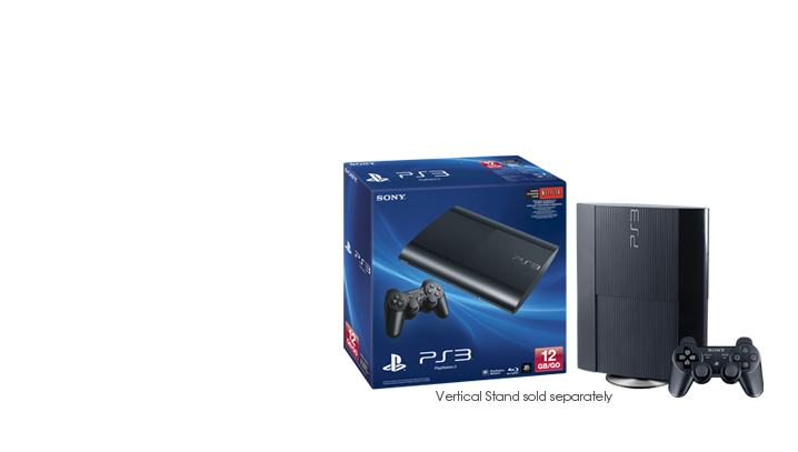 New 12GB PlayStation 3 from Sony.
