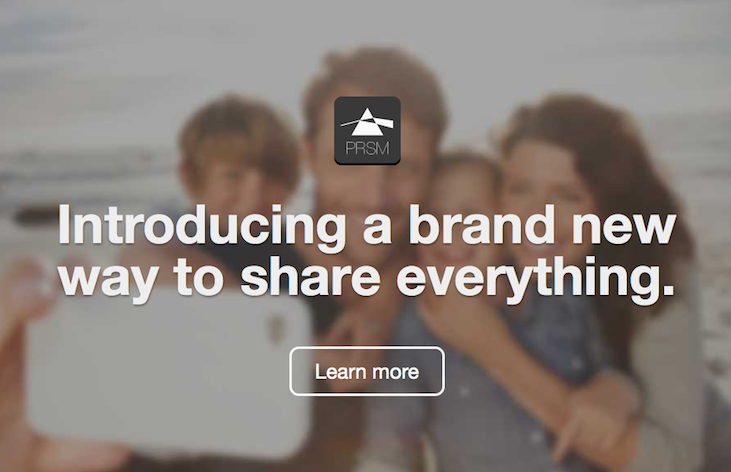 PRSM - the app for sharing everything