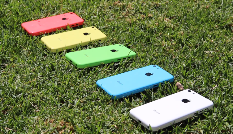 Leaked iPhone 5C cases.