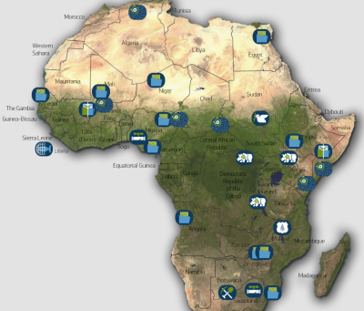 Digitalglobe Creating Real Time Heat Map Of Conflict In Africa