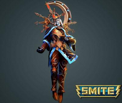 Smite's Chronos god