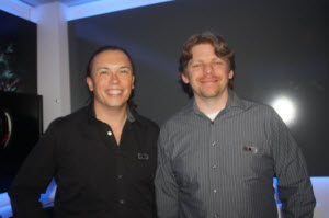 Dave Georgeson and Terry Michaels of Sony Online Entertainment.