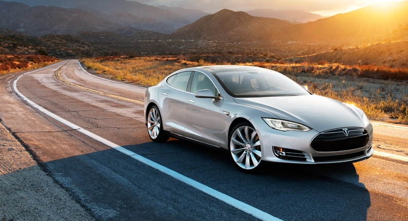 Tesla's Model S is rated for a top speed of 130 mph.