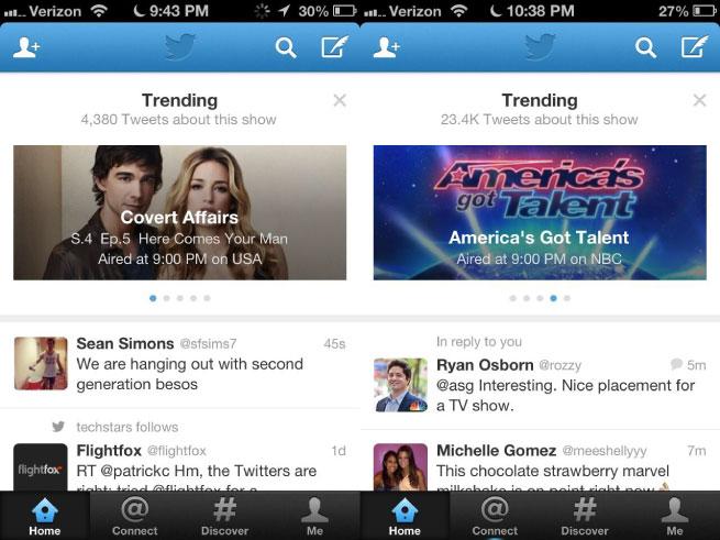 Twitter Trending TV banner