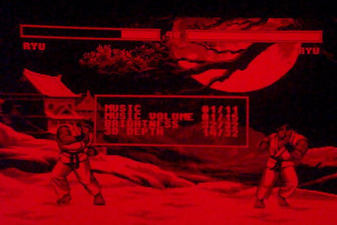 Street Fighter Ii For Virtual Boy Is Red And Amazing