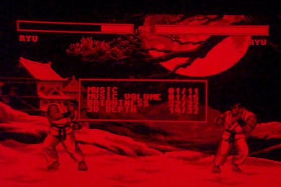 Street Fighter II: Hyper Fighting for the Virtual Boy console.