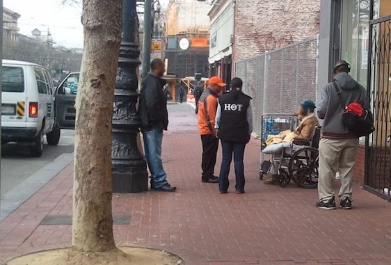 A local nonprofit is working to help the homeless by engaging with the tech community on social media.
