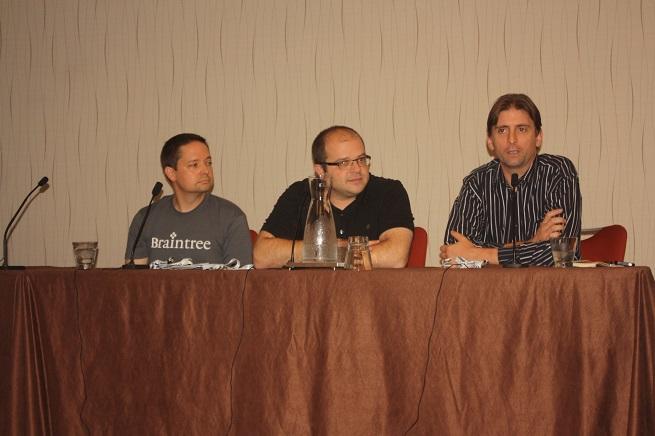 The API economy panel at CloudBeat 2013 today.
