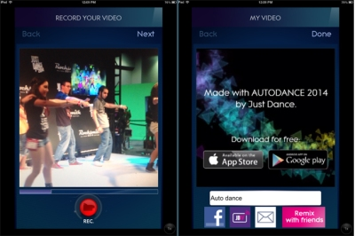 Autodance 2014 encourages players to Just Dance with themselves