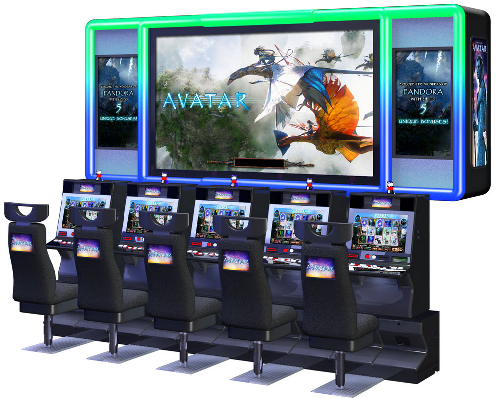 Coming To A Casino Near You Avatar Slot Machines With