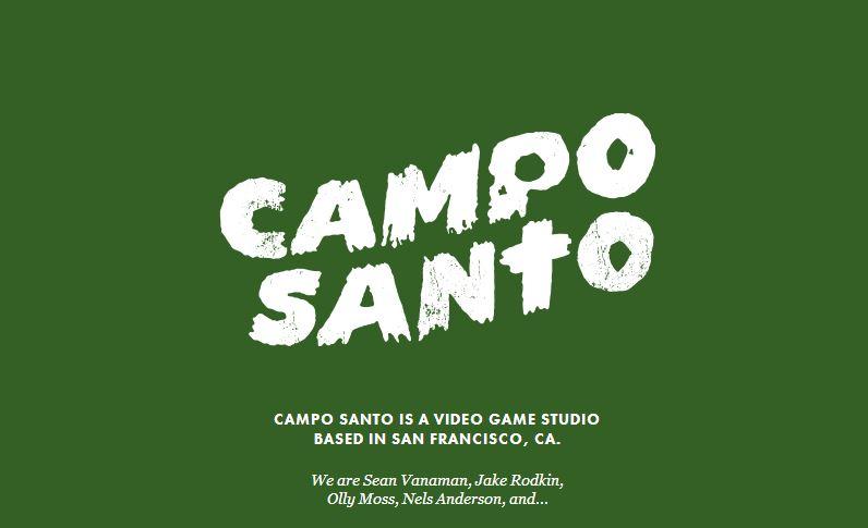 The logo for the new Campo Santo studio.