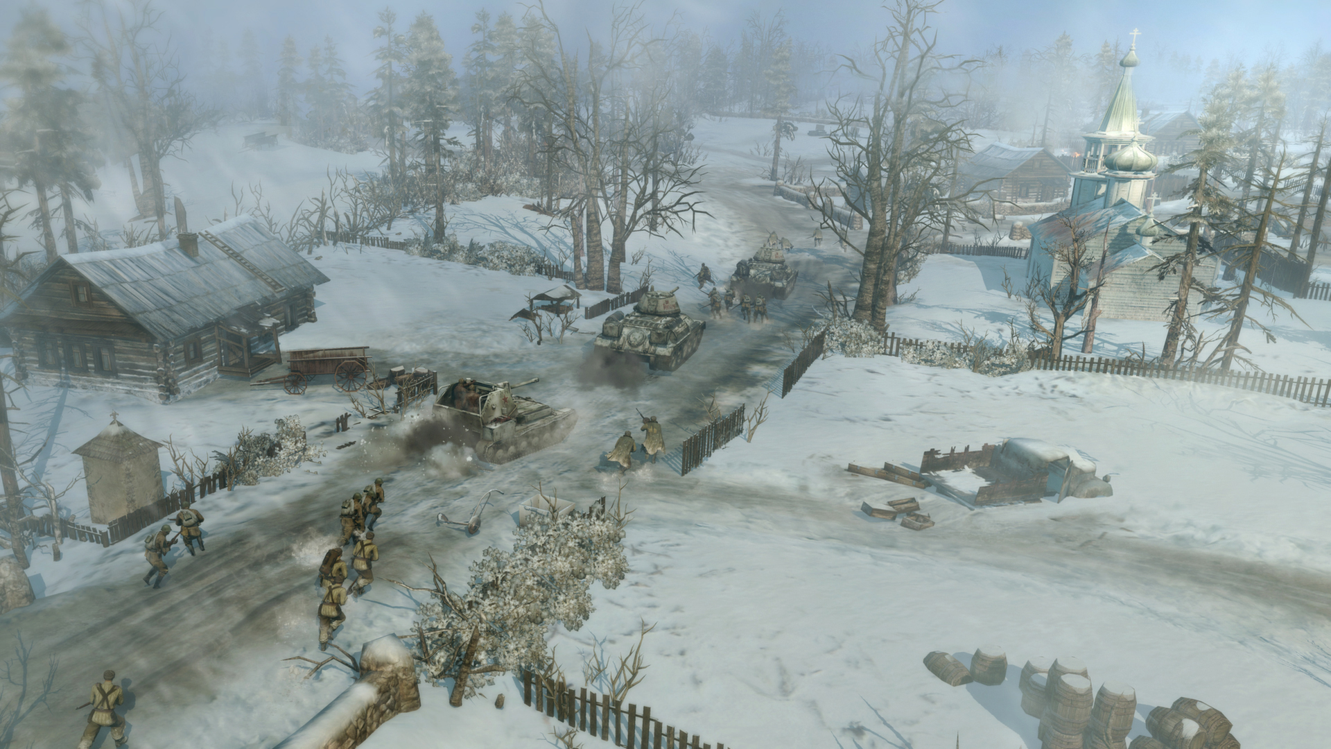 Coh 2 Case Blue : Blue man group company of heroes s case blue dlc out today pc