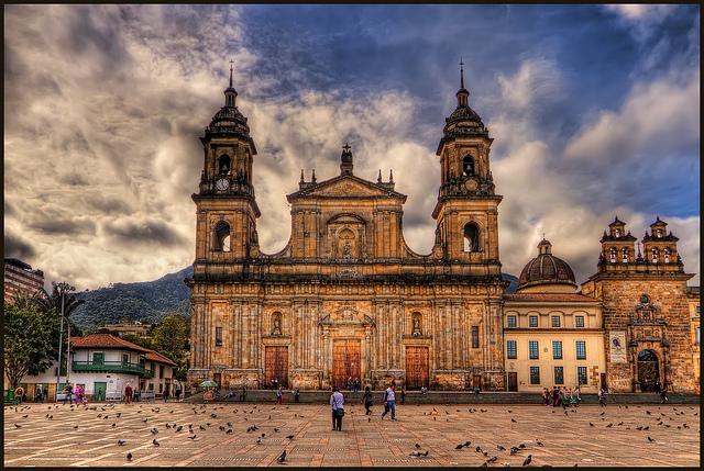 Cathedral Primada in Bogota, Colombia